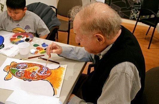 Арт-терапия для пожилых людей: упражнения, занятия, рисование