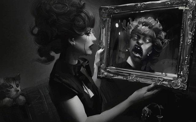 Боязнь зеркал, отражения в зеркале — Спектрофобия, Эйсоптрофобия