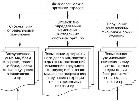 Физиология стресса у человека, физиологические механизмы и изменения