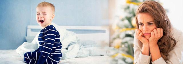 Истерика перед сном у ребенка (как уложить спать)
